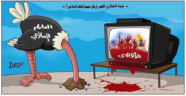 Caricatures-in-the-Arab-world-Al-Aqsa-is-in-danger-2